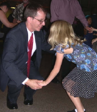 Bring your Dad and Dance at the Hollis Daddy Daughter Dance!